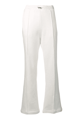 Moncler flared track pants - White