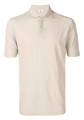 Borrelli classic polo shirt - Neutrals