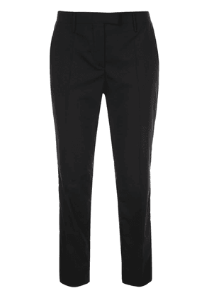Prada slim-fit cropped trousers - Blue