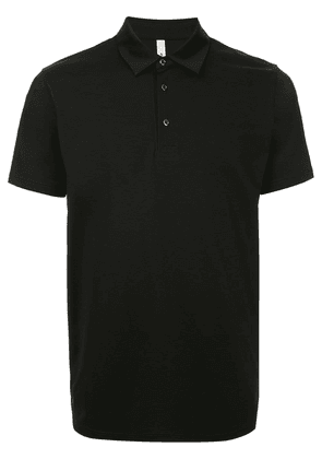 Attachment short-sleeved polo shirt - Black