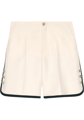 Gucci Wool-silk shorts - Black