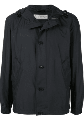 Gieves & Hawkes hooded shell jacket - Black