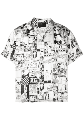 Enfants Riches Déprimés comic printed shirt - Black