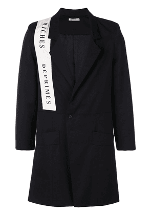 Enfants Riches Déprimés ERD Pecking Spring coat - Black
