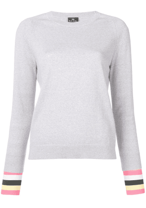 PS Paul Smith knitted crewneck jumper - Grey