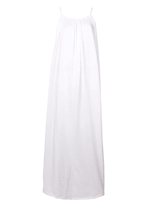 The Row rope strap dress - White
