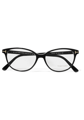TOM FORD - D-frame Acetate Optical Glasses - Black