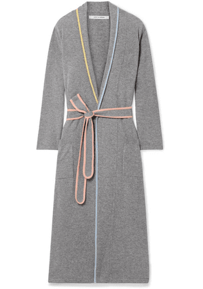 Chinti and Parker - Cashmere Robe - Gray
