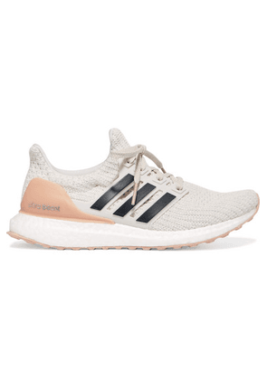 adidas Originals - Ultraboost Rubber-trimmed Primeknit Sneakers - Off-white