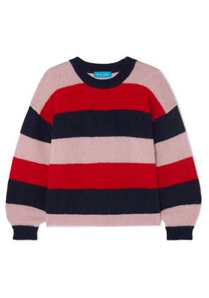M.i.h Jeans - Jackson Striped Mohair-blend Sweater - Red