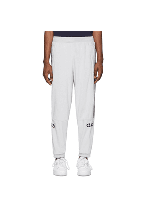 adidas Originals Grey Velour Lounge Pants