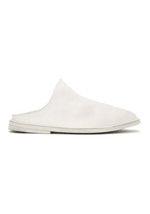 Eckhaus Latta White Marsèll Edition Tost Loafers
