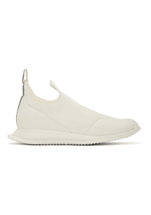 Rick Owens Drkshdw Off-White New Runner Slip-On Sneakers