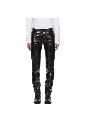 Nomenklatura Studio Black Latex Trousers