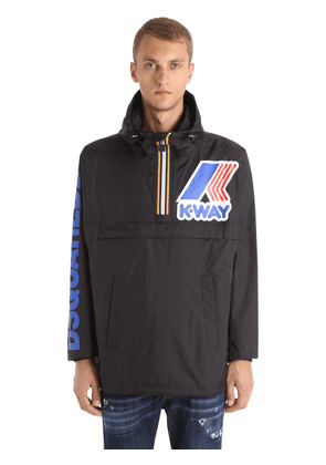 K-way Reversible Nylon Rain Jacket