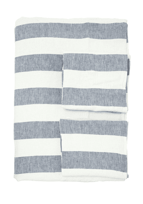 Vintage Striped Duvet Cover Set