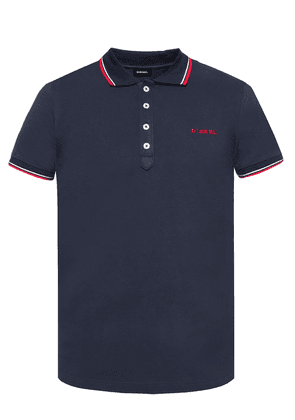 Diesel Logo-embroidered polo