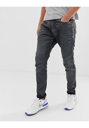 G-Star D-Staq 3d skinny fit jeans in dark aged cobler