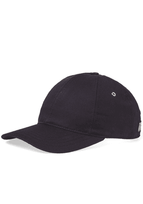 AMI Canvas Cap Navy & White
