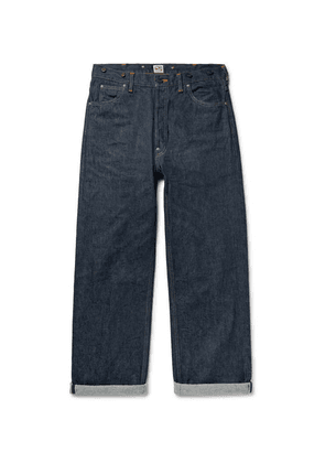 Chimala - Selvedge Denim Jeans - Dark denim
