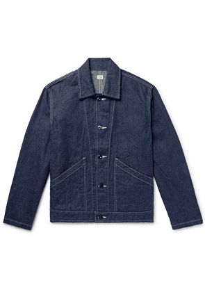 Chimala - Selvedge Denim Engineer Jacket - Indigo