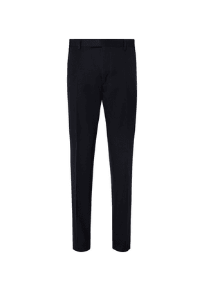 Berluti - Midnight-blue Slim-fit Wool-twill Suit Trousers - Midnight blue