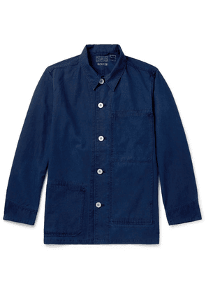 Blue Blue Japan - Indigo-dyed Cotton Chore Jacket - Indigo