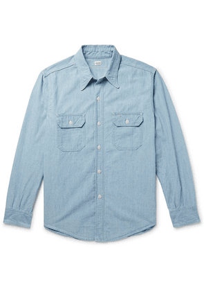 Chimala - Cotton-chambray Shirt - Light denim