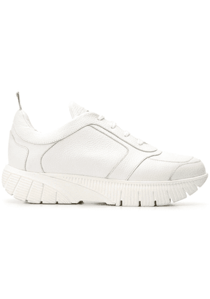 Thom Browne Flex Sole Raised Running Shoe - White