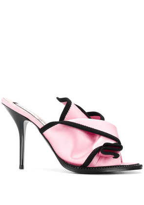No21 twisted front mules - Pink