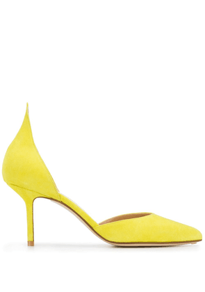 Francesco Russo pointed pumps - Yellow