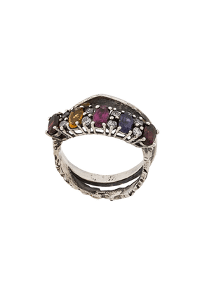 6288bc6278b Angostura stone embellished ring - Silver