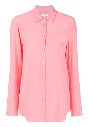 Equipment long sleeved blouse - Pink