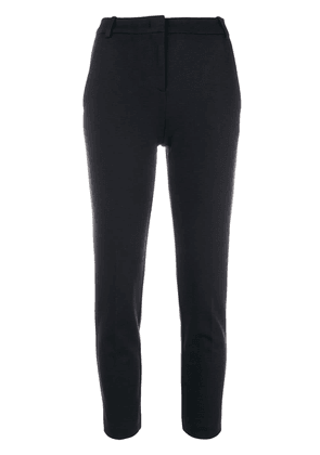 Pinko cropped cigarette trousers - Blue