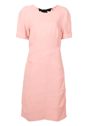 No21 bow-detail mid dress - Pink