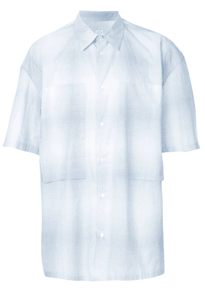 E. Tautz oversized chest pocket shirt - Blue