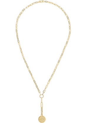 Foundrae - True North 18-karat Gold Necklace - one size