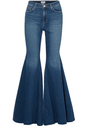 L'Agence - Lorde High-rise Flared Jeans - Mid denim