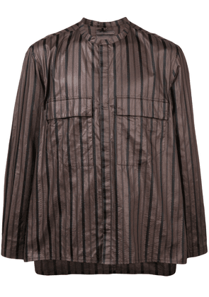 Siki Im striped blouse - Brown