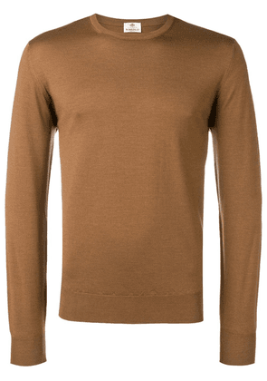 Borrelli round neck jumper - Brown