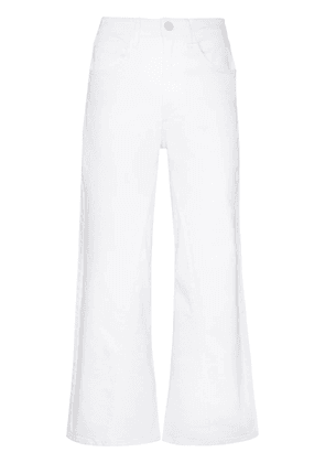 3x1 Aimee wide-leg cropped jeans - White