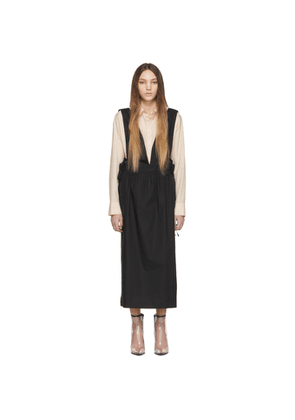 MM6 Maison Margiela Black Sleeveless Dress