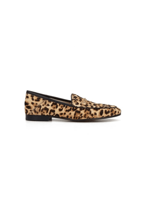 Loraine Leopard Loafer - Sand