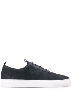 Grenson classic low-top sneakers - Blue