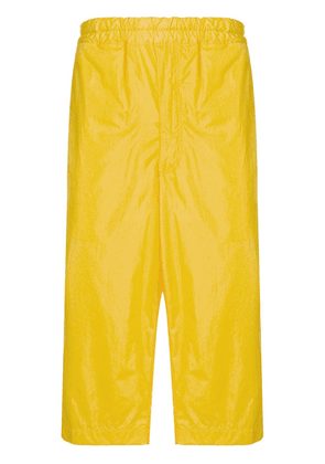 Comme Des Garçons Shirt Boys side panel cropped trousers - Yellow