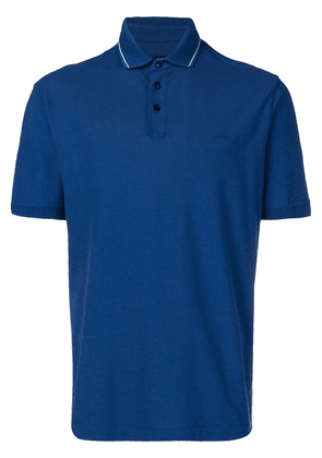 Z Zegna shortsleeved polo shirt - Blue