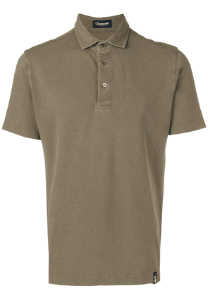 Drumohr logo polo shirt - Green