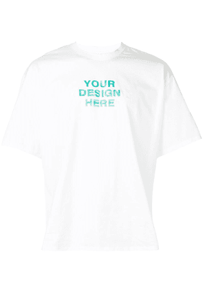 Doublet Your Design Here T-shirt - White