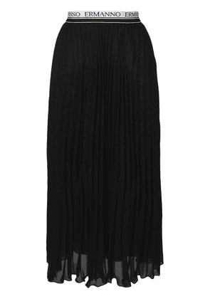 Ermanno Ermanno pleated skirt - Black