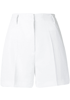 Michael Kors Collection tailored fitted shorts - White